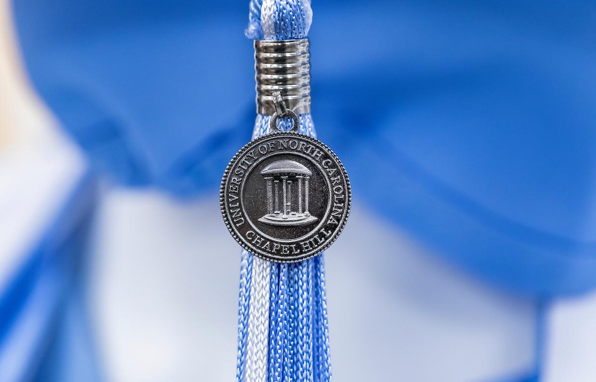 a graduation tassel